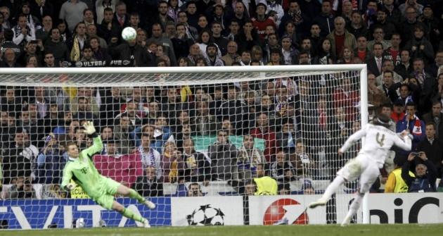 Sergio Ramos. Real-madrid-vs-bayern-munich-champions-penalty-sergio-ramos-el-pais-claudi-alvarez