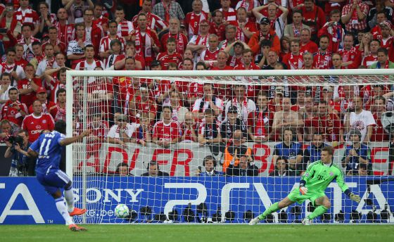 Stars of Chelsea FC Vs Bayern Munich 2012 Grand Final UEFA ...