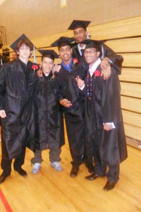 Dzhokhar Tsarnaev jahar high school graduation with friends twitter analysis mri navarra